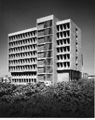 Julius Shulman-5 Prints-Histadrut Center-Sharon & Idelson