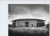 Julius Shulman -5 Prints-Glass Museum Israel- Witkower & Daumann