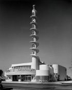 Julius Shulman -The Academy Theater, Inglewood, Cal.-Charles Lee