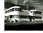 Julius Shulman-Apartment Building-Los Angeles,Ca-Milton J. Black