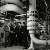 Julius Shulman- L A Dept.of Water & Power Boiler Room-A.C.Martin