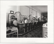 Julius Shulman-Vintage Pocket Vest Camera- Soda Fountain, 1930's