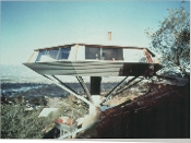 Julius Shulman-Chemospher House-Hollywood Hills-John Lautner1961