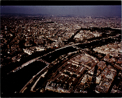 Julius Shulman - View From The  Eiffel Tower, Paris France. 1959