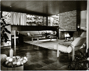 Julius Shulman - Living Room Scene - Richard Neutra