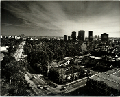 Julius Shumlan - Century City Skyline - 1973