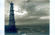 "Julius Shulman-Vintage Collection-""The  Oil Well"" - Circa 1930's"