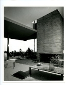 Julius Shuman-Vintage, Brown Residence, Bel Air, Ca. Neutra,1955