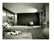 Julius Shulman-Vintage,Heryford House, Los Angeles, Neutra, 1953
