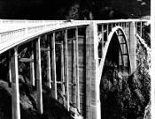 "Julius Shulman-Vintage, ""The Bridge"". Circa 1930's"