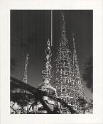 Julius Shulman - The Watts Tower, Los Angeles, Simon Rodia, 1966