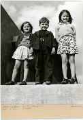 Julius Shulman - Rare Vintage - Children, Jewish Center, 1939