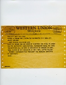Julius Shulman-Western Union Telegram,AIA Board of Directors1969