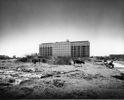 Julius Shulman - 2 Prints -Tel-Aviv Hospital - Sharon & Idelson