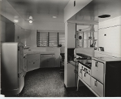 Julius Shulman - 2 Prints - Early Kitchens & Appliances