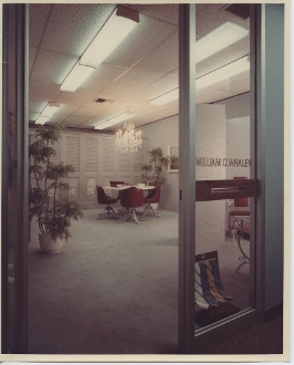 Julius Shulman-Color Print - Countess Mara, Los Angeles Showroom