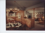 Julius Shulman's Private Collection-Interior Kitchen/FamilyRoom
