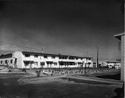 Julius Shulman - Rancho San Pedro Public Housing Development