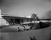 Julius Shulman -(2) Pueblo Del Rio, Los Angeles - Richard Neutra