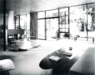 Julius Shulman-Entenza House, Case Study # 9-Eames/Saarinen 1950