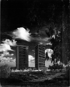 Julius Shulman - Century City Towers - I.M. Pei & Welton, Becket