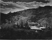 Julius Shulman - Early Original Print Bel-Air, California - 1947