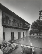 Julius Shulman-The Andalusia Courtyard -  Arthur & Nina Zwebell