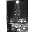 Julius Shulman-Rare Vintage-LA City Hall-Brownie Camera Print