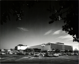 Julius Shulman-CBS Studios, Fairfax District- William L. Pereira