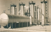 Julius Shulman- Private Collection - Rare Vintage Refinery, 1936