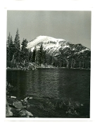 "Julius Shulman-2 Vintage Prints -""Lakes & Mountains""Circa 1930's"