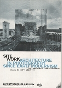 Julius Shulman-Poster-Site Work Architecture/Photography,London