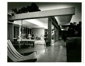 Julius Shulman- Vintage, The Tremaine Residence, Neutra, 1948