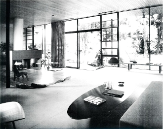 Julius Shulman- Case Study House #9, Eames & Saarinen,1950