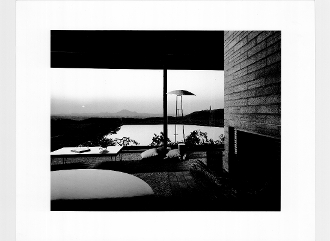Julius Shulman-Kramer House, Norco, Cal.  Richard Neutra, 1953
