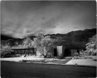 Julius Shulman-Sutter House, Palm Springs, Stewart Williams 1961