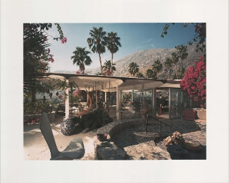 Julius Shulman-W. Burgess House, Palm Springs, Albert Frey. 1984