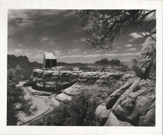 Julius Shulman-Chapel of the Holy Cross,Sedona, Az. Anshen/Allen