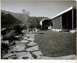 "Julius Shulman-Vintage, ""Miller House -Palm Springs, Neutra,1938"
