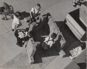 "Julius Shulman-Vintage-3 Prints, ""Children at Play"", Los Angeles"
