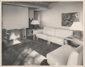 "Julius Shulman-Vintage, ""The Cozy Living Room"" Los Angeles"
