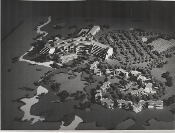 Julius Shulman - Architectural Model, Country Club Resort