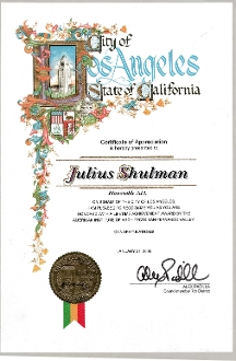 Julius Shulman-Award, Lifetime Achievement Award, Honorable AIA