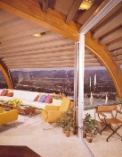Julius Shulman-Chemosphere House, Hollywood Hills, John Lautner