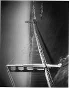 Julius Shulman-Battleship-Golden Gate Bridge, San Francisco1933